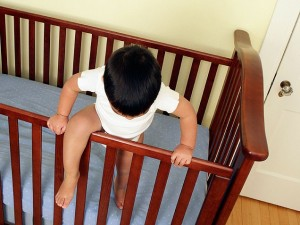 Cot / Crib Jumping Toddler