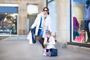 Tips for stress free shopping with baby or toddler