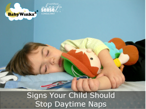 Signs Your Child Should Stop Daytime Naps