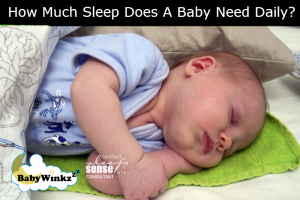 How Much Sleep Does A Baby Need Daily?