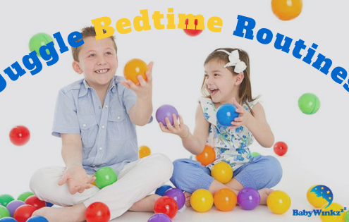 How to juggle night time routine